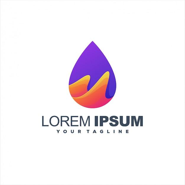 Niesamowite Projektowanie Logo Gradientu Premium Wektorów