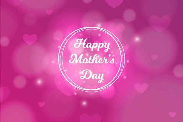 Niewyraźne Koncepcja Dzień Matki Darmowych Wektorów