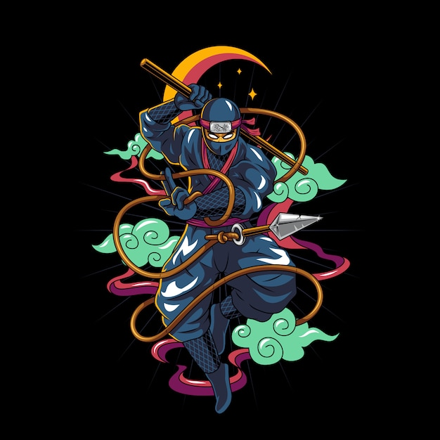 Ninja Premium Wektorów