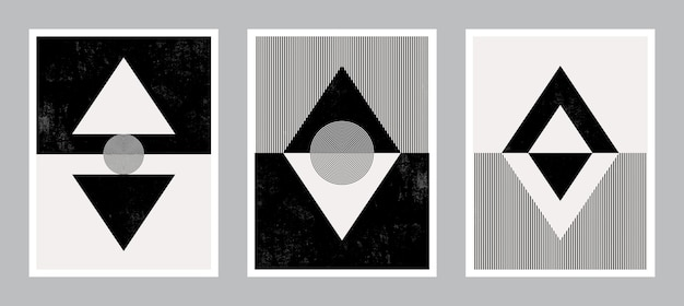 Nowoczesna Grafika Plakatu Do Druku. Abstrakcyjna Sztuka ścienna. Cyfrowa Sztuka Dekoracji Wnętrz. Premium Wektorów