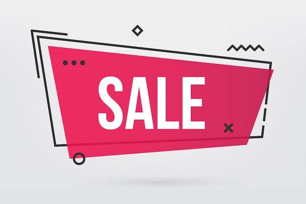 Nowoczesna oferta sprzedaży modnych sezonów. Premium Wektorów