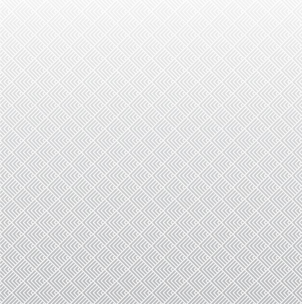 Nowoczesne Białe, Szare Tło Geometryczne - Wzór Premium Wektorów