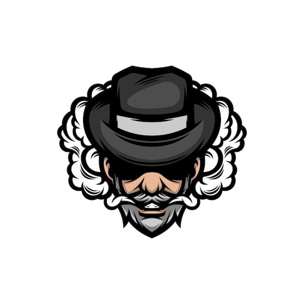 Nowoczesne Logo Człowieka Premium Wektorów