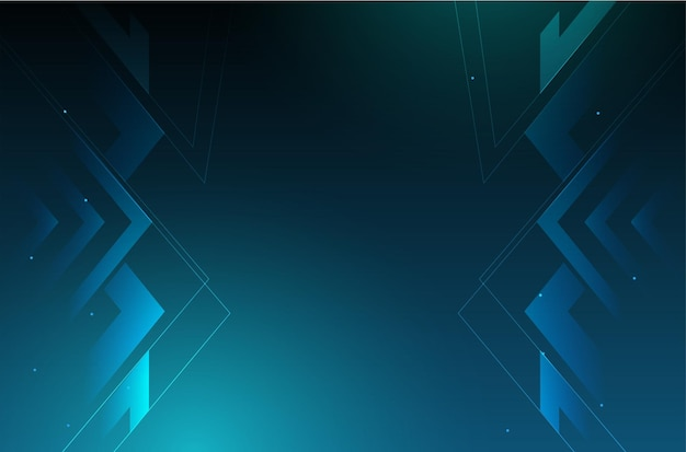 Nowoczesne Tło Biznesowe Z Projektowania Technologii Cyfrowej Darmowych Wektorów