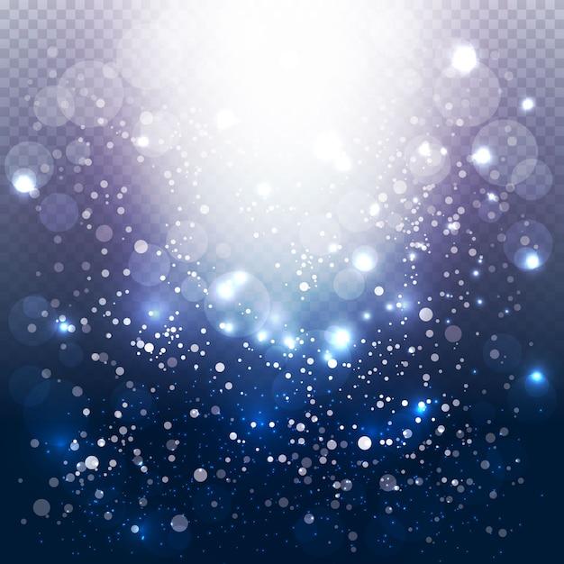 Nowoczesne tło światła bąbelkowe Darmowych Wektorów