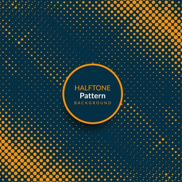 Nowoczesny wzór półtonów abstrakcyjny wzór tła Darmowych Wektorów