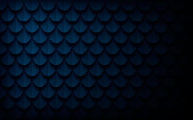 Nowożytny 3d Zmrok - Błękitny Abstrakcjonistyczny Tekstury Tło Premium Wektorów
