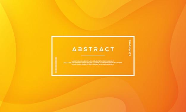 Nowożytny abstrakcjonistyczny pomarańczowy wektorowy tło. Premium Wektorów
