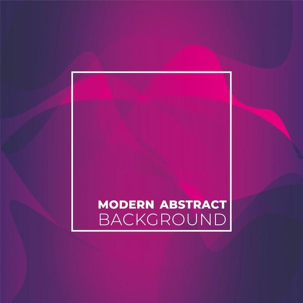 Nowożytny Abstrakcjonistyczny Tło Z Kształtami Premium Wektorów