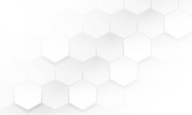 Nowożytny Sześciokąta Tło, Abstrakcjonistyczny Geometryczny Tło Premium Wektorów