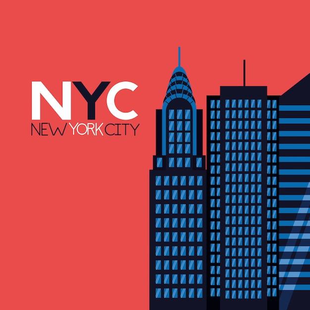 Nowy Jork Darmowych Wektorów