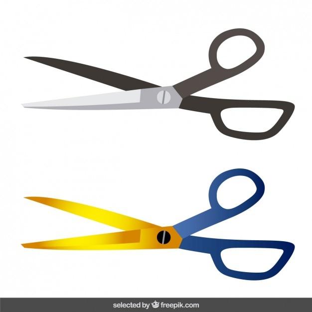 Nożyczki Pakietu Darmowych Wektorów