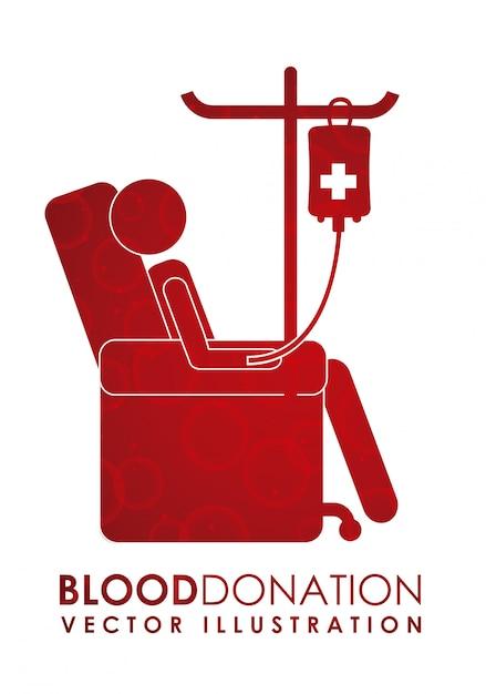 Oddaj Projekt Krwi Premium Wektorów