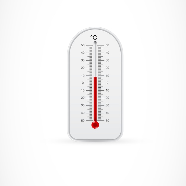 Odkryty Termometr Pokazujący 8 Stopni Celsjusza Darmowych Wektorów
