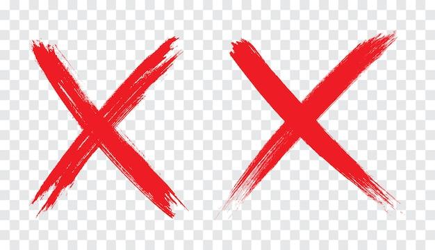 Odrzucony Znak W Stylu Grunge Premium Wektorów