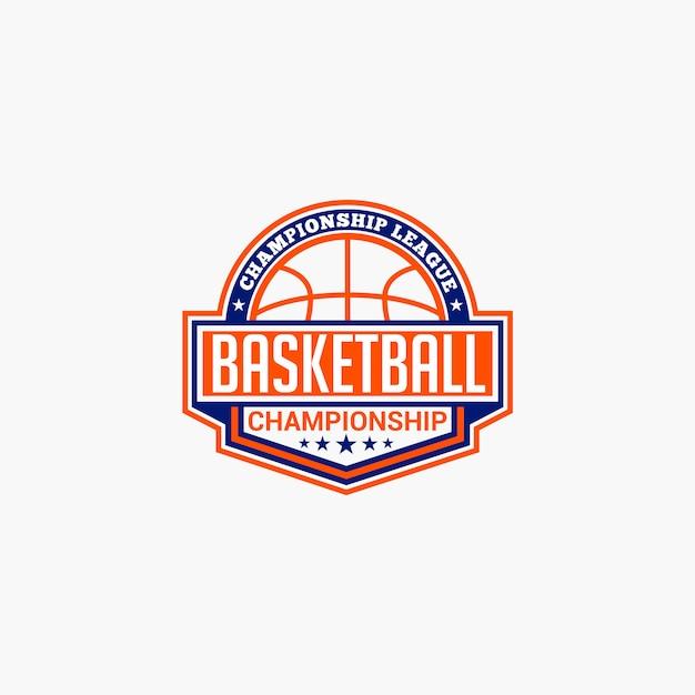 Odznaka klubu koszykówki Premium Wektorów