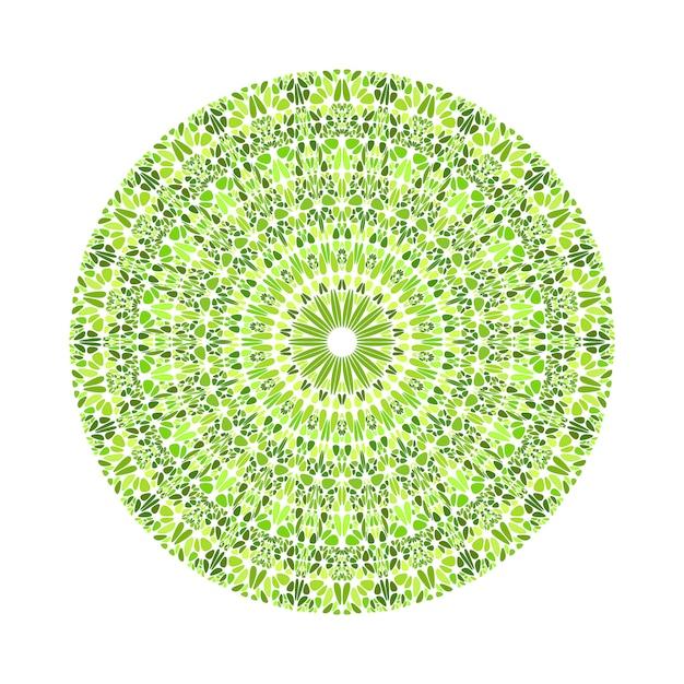 Okrągła Geometryczna Mandala Wzór Geometryczny Streszczenie żwiru Premium Wektorów