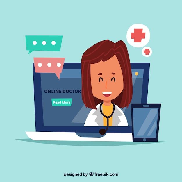 Darmowe Zdjęcia : lekarz, w Internecie, medyczny, czat