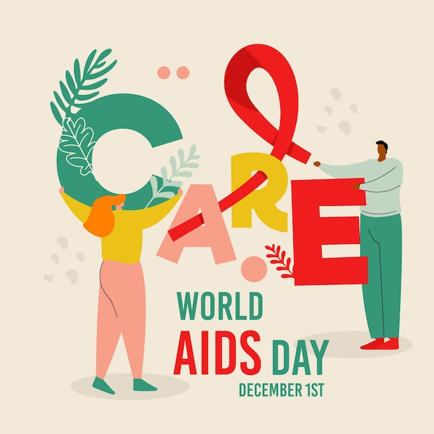 Opiekuj Się I Pomagaj światu Dzień Pomocy Darmowych Wektorów