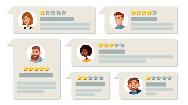 Opinie Klientów Premium Wektorów