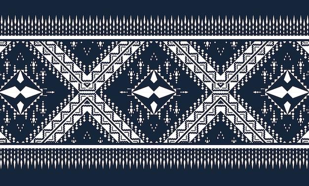 Orientalny Wzór Geometryczny Etniczne. Wzór. Premium Wektorów