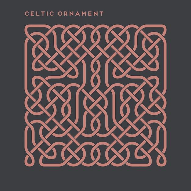 Ornament Celtycki Darmowych Wektorów