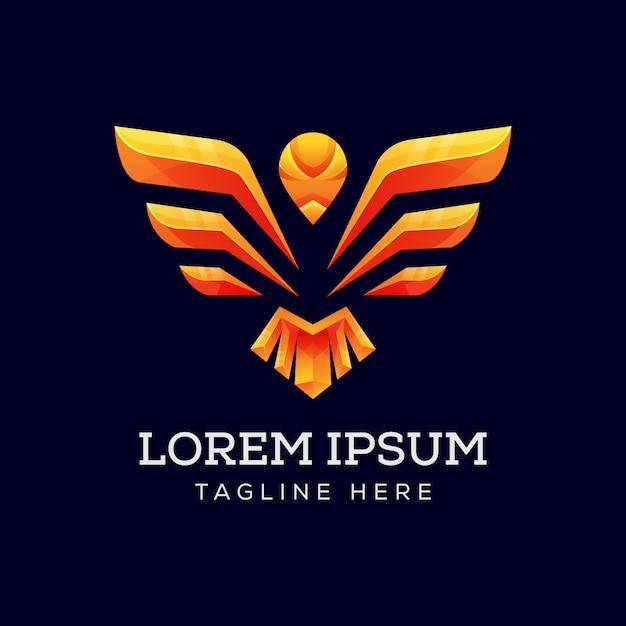 Orzeł Skrzydło Logo Premium Wektor Premium Wektorów