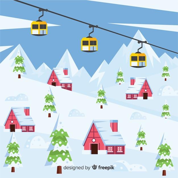 Ośrodek narciarski Darmowych Wektorów