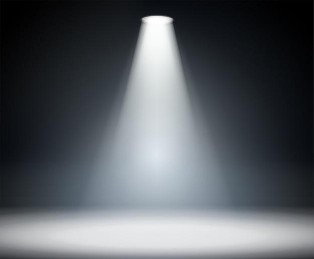 Oświetlenie z góry Premium Wektorów