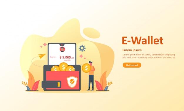 Oszczędności Finansowe I Płatności Online Premium Wektorów