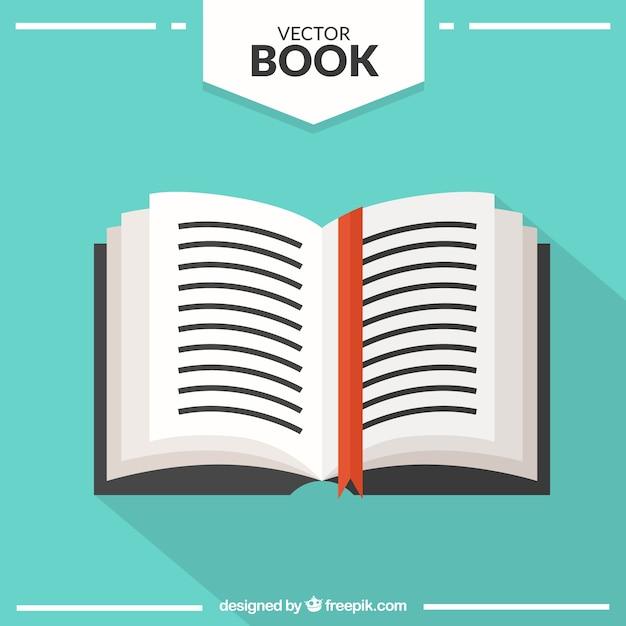 Otwarta Książka Premium Wektorów
