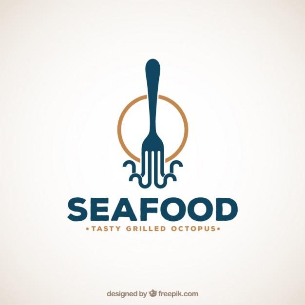 owoce morza logo wektor premium pobieranie