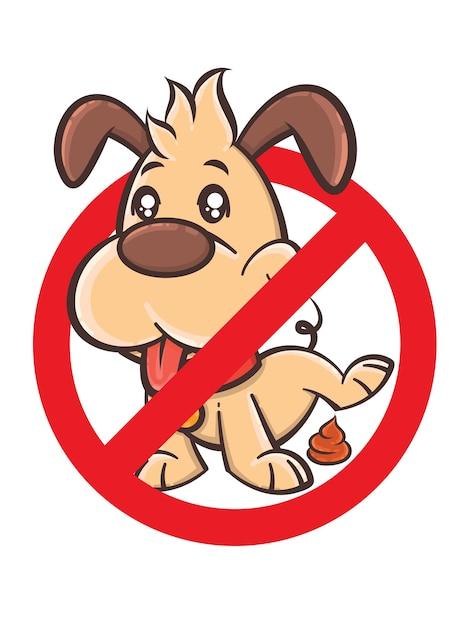 Oznak Kupa Psa - Postać Z Kreskówki Wektorowej Premium Wektorów