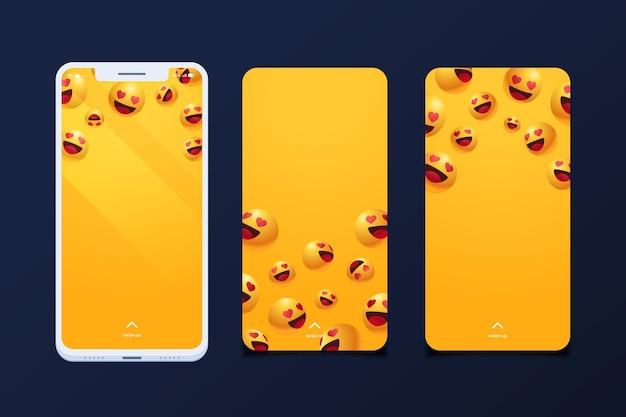 Pakiet Ekranów Smartfonów Darmowych Wektorów
