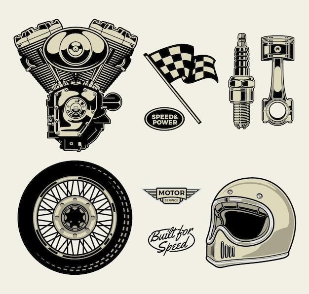 Pakiet Motocyklowy Premium Wektorów
