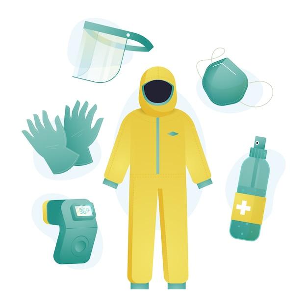 Pakiet Wyposażenia Ochronnego Darmowych Wektorów