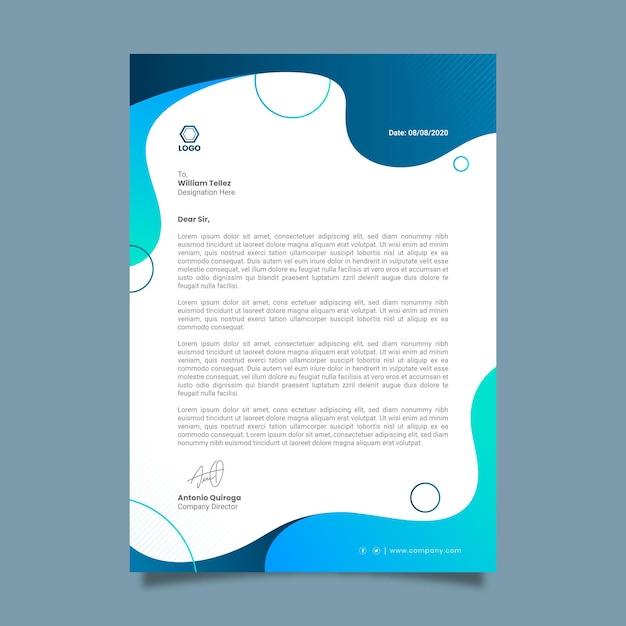 Papier Firmowy Ogólnego Przeznaczenia Premium Wektorów