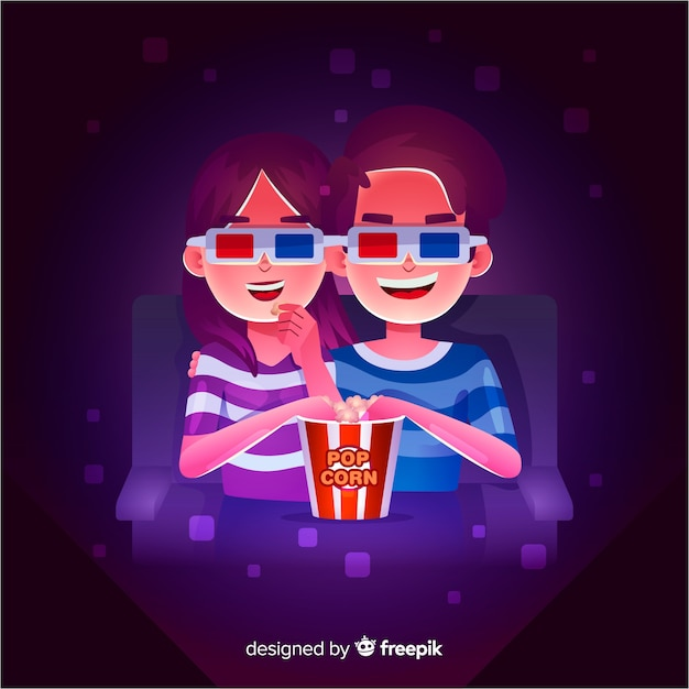 Para w kinie Darmowych Wektorów