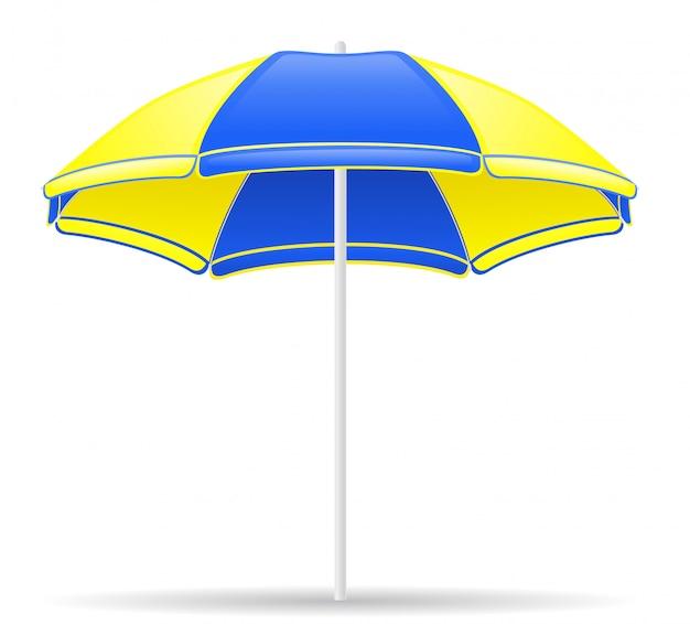 Parasol plażowy Premium Wektorów