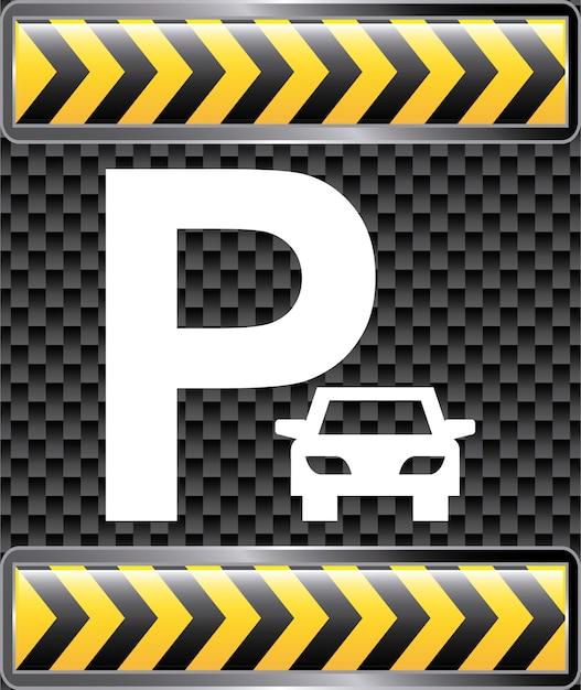 Parking projekt graficzny ilustracja wektorowa Darmowych Wektorów