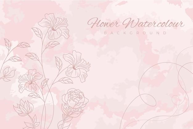 Pastelowe Tło Różowy Proszek Premium Wektorów