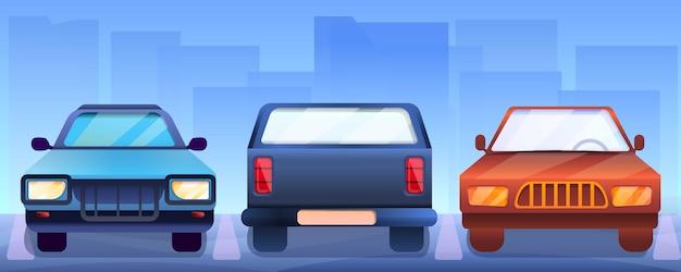 Pickup Samochody Transparent, Stylu Cartoon Premium Wektorów
