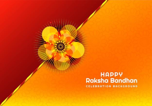 Piękne Rakhi Dla Karty Raksha Bandhan Darmowych Wektorów
