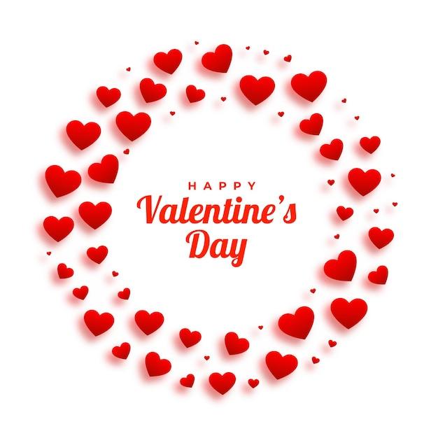 Piękne Serca Ramki Na Walentynki Darmowych Wektorów