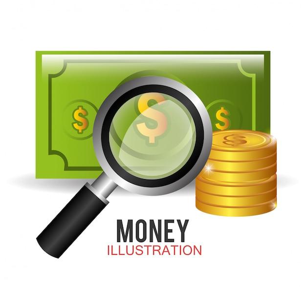 Pieniądze I Projektowanie Biznesowe. Darmowych Wektorów