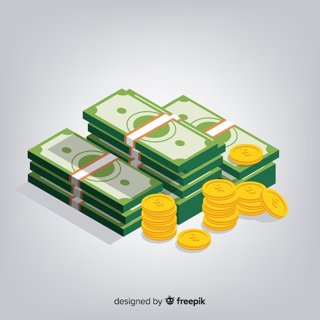 Pieniądze Darmowych Wektorów