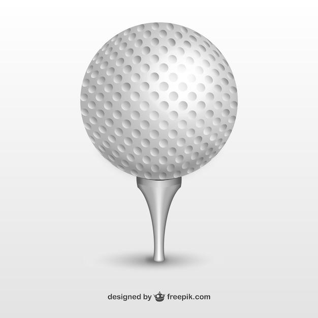 Piłeczka golfowa Darmowych Wektorów