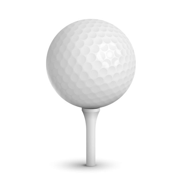 Piłka golfowa Darmowych Wektorów