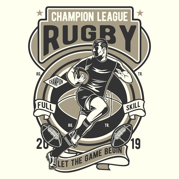 Piłka Nożna Rugby Premium Wektorów