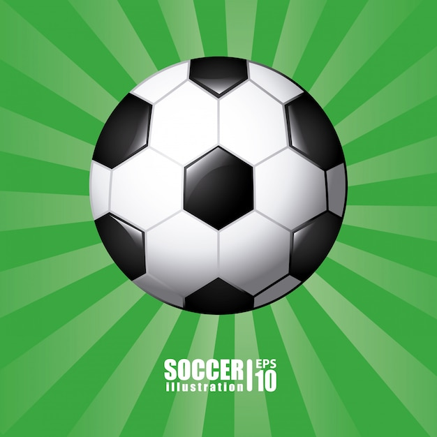 Piłka W Kolorze Zielonym Darmowych Wektorów
